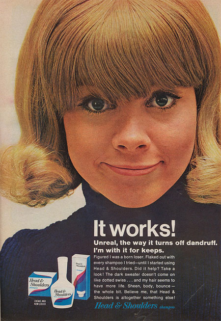 Vintage Head & Shoulders Ad