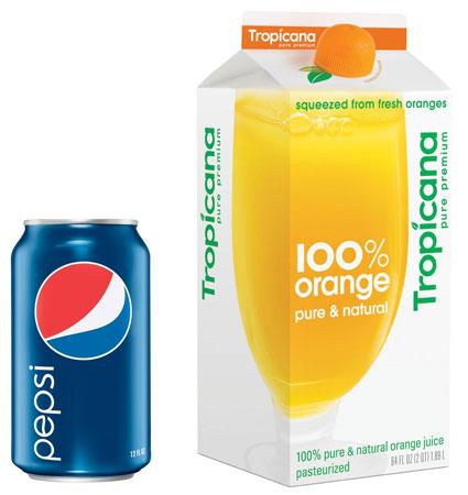 Arnell's take on Pepsi and Tropicana