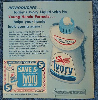 Vintage Ivory Advertising
