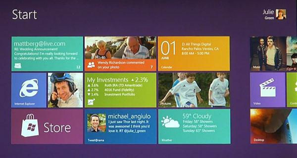 Windows 8 Metro Screenshot 2